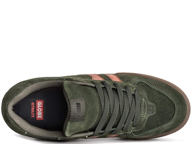 Globe Encore-2 Forest Green/Tobacco