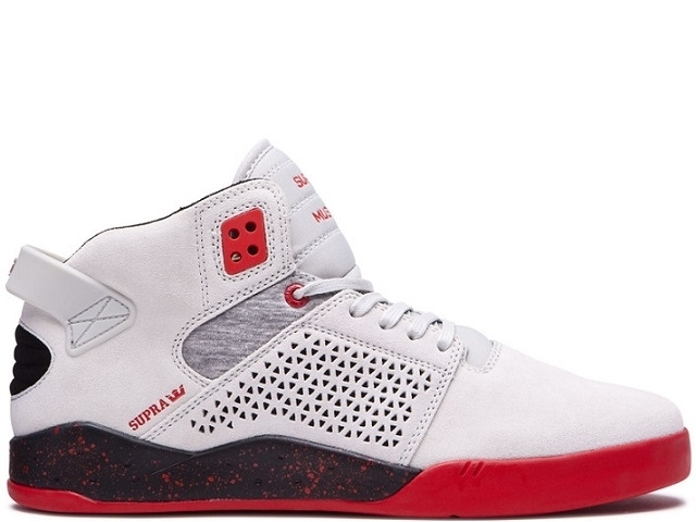 Supra Skytop III Grey/Red (detaliu #0)