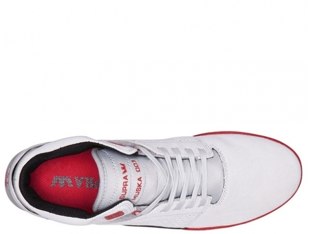 Supra Skytop III Grey/Red (detaliu #1)