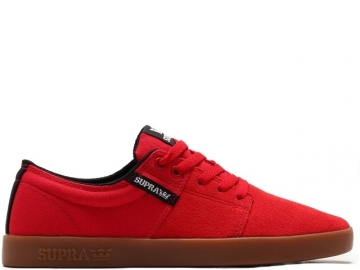 Supra Stacks II Red/Gum (thumb #0)