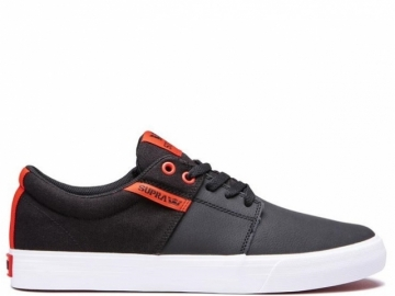 Supra Stacks II Vulc Black/Risk Red-White (thumb #0)