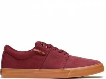 Supra Stacks II Vulc Wine/Tan-LT Gum (thumb #0)