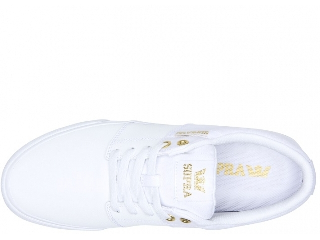 Supra Stacks Vulc II White/Gold White