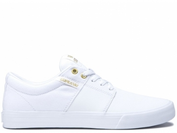 Supra Stacks Vulc II White/Gold White (thumb #0)