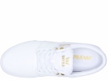 Supra Stacks Vulc II White/Gold White (#1)