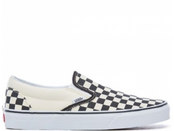 Vans Classic Slip-On Black and White Checker/White (thumb #0)