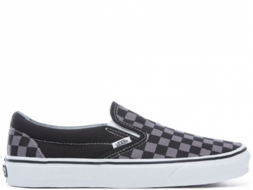 Vans Classic Slip-On Black/Pewter Checkerboard (thumb #0)