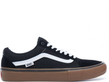 Vans Old Skool Pro Black/White/Medium Gum (thumb #0)