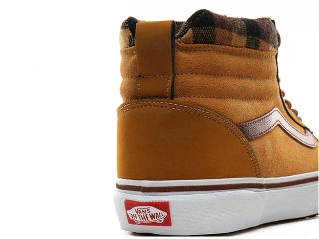 Vans Ward HI MTE Honey/Plaid (detaliu #2)
