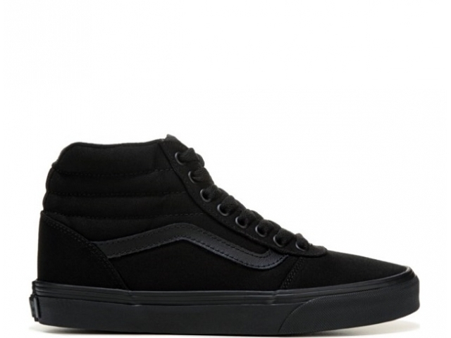 Vans Ward HI Ws Canvas Black/Black (detaliu #0)
