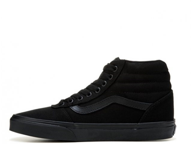 Vans Ward HI Ws Canvas Black/Black (detaliu #1)