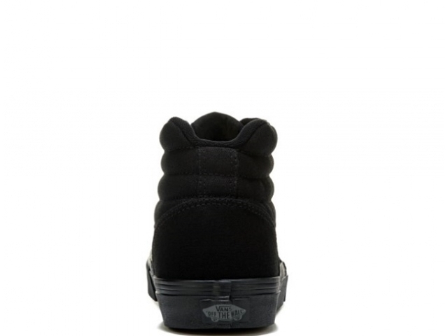 Vans Ward HI Ws Canvas Black/Black (detaliu #2)
