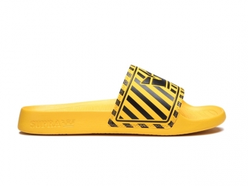Supra Lockup Black/Caution Stripe (thumb #0)