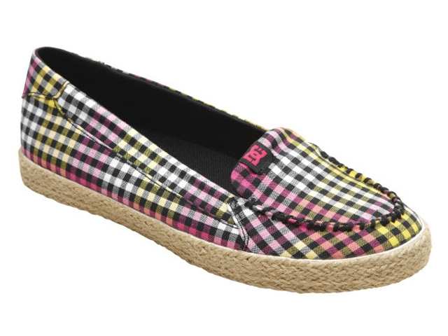 Slip-Ons DC Villainess Jute SE Black/Yellow de la DC