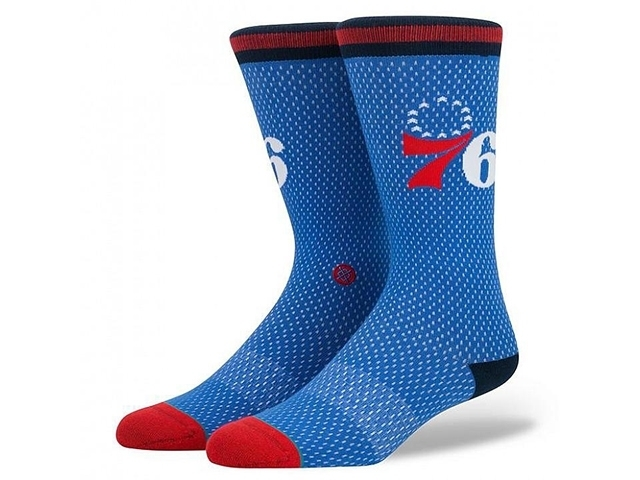 Stance Arena Sixers Jersey Blue