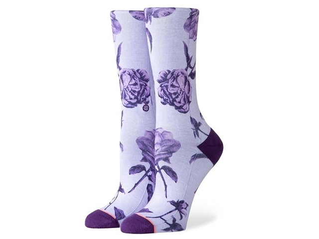 Stance Rebel Rose Crew Purple (detaliu #0)