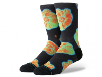 Stance Thermal Floral Black (thumb #0)