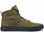 Supra Stacks Mid Military Olive/Black/black (#0)