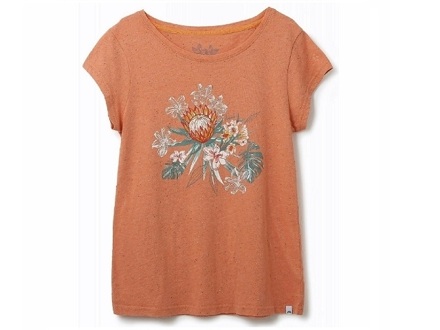 Animal Spirit Animal Too  Tee Canyon Sunset Orange (detaliu #0)
