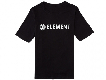 Element Logo Crew Black (thumb #0)