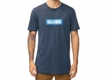 Globe Box Tee Argon Blue