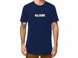 Globe Box Tee II Argon Blue