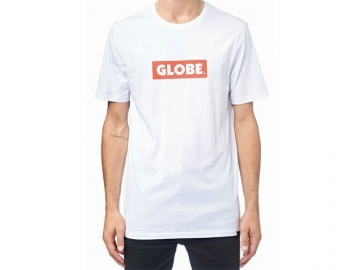 Globe Box Tee White (thumb #0)