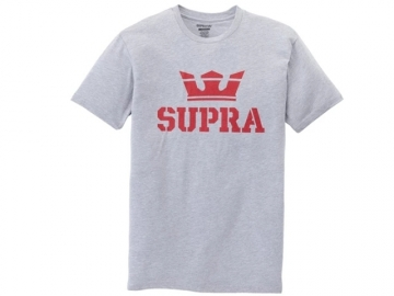 Supra Above SS Grey Heather/Red (thumb #0)