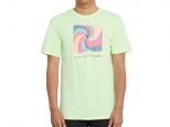 Volcom Earth People Basic SS Key Lime