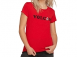 Volcom Easy Babe Rad 2 Tee Red (#0)