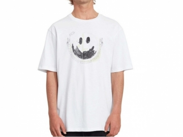 Volcom Fake Smile SS White (thumb #0)