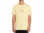Volcom M Loeffler FA Tee Dawn Yellow (thumb #0)