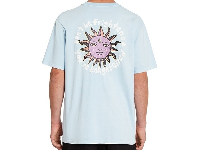 Volcom Ozzy Wrong Tee Aether Blue (detaliu #1)