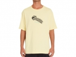 Volcom Stone Face LSE SS TEE Dawn Yellow