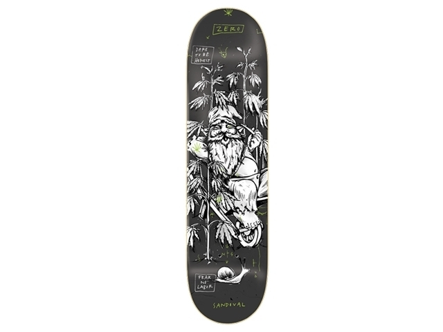 Zero Sandoval Gnarly Gnomes 8.375 Grey/Black
